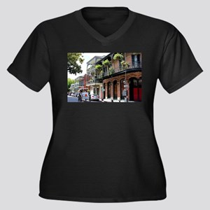 French Quarter Street Plus Size T-Shirt