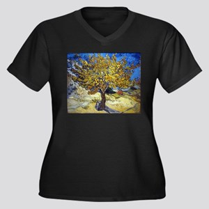 Van Gogh Mulberry Tree Plus Size T-Shirt