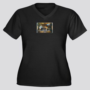Africa - design by Hogie Parsons Plus Size T-Shirt