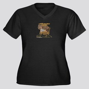 Africa - Design by Adrian Sweeny Plus Size T-Shirt