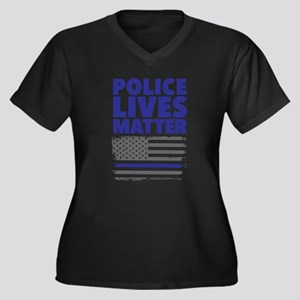 Police Lives Matter Plus Size T-Shirt
