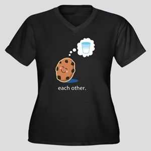 Couples Made For Each Other Plus Size T-Shirt