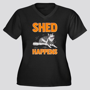Cute & Funny Shed Happens Si Plus Size T-Shirt