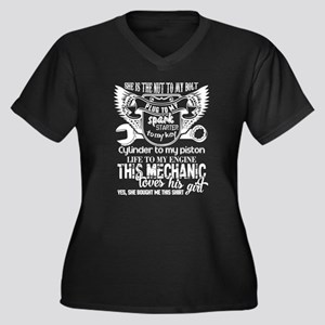 This Mechanic Loves His Girl T S Plus Size T-Shirt