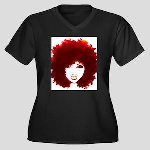 a52ad7c1 Afro Women's Plus Size T-Shirts - CafePress