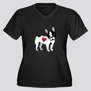French Bulldog Plus Size T-Shirt