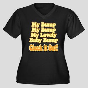 8295c37d011 Baby Bump Women s Plus Size T-Shirts - CafePress