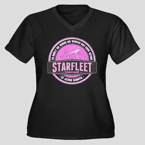 be8f39c06 Star Trek TV Show Women's Plus Size T-Shirts - CafePress