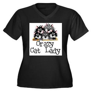 61e46ef0e Cat Women's Plus Size T-Shirts - CafePress
