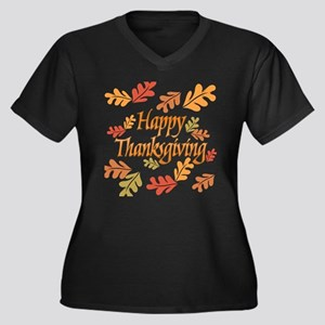 f30289f406a7 Thanksgiving Women's Plus Size T-Shirts - CafePress