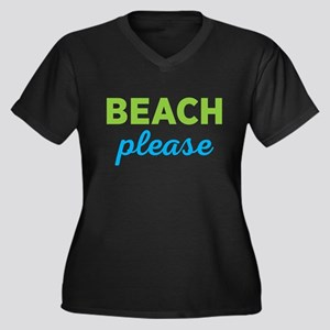 Beach Please Plus Size T-Shirt