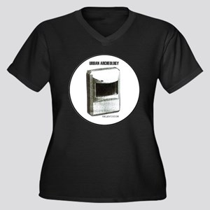 URBAN ARCHEOLOGY Series: Televis Plus Size T-Shirt