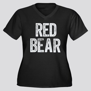 Red Bear Plus Size T-Shirt