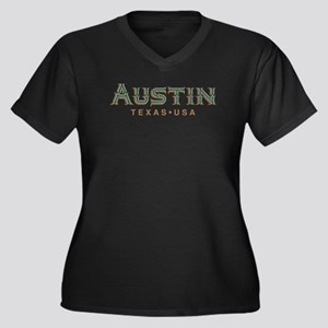 Retro Austin Plus Size T-Shirt