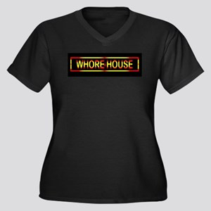 Whore House Sign Plus Size T-Shirt