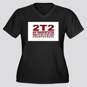 2t2 air trans Plus Size T-Shirt