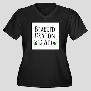 Bearded Dragon Dad Plus Size T-Shirt