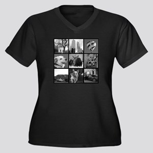 Your Photos Here - Photo Block Plus Size T-Shirt