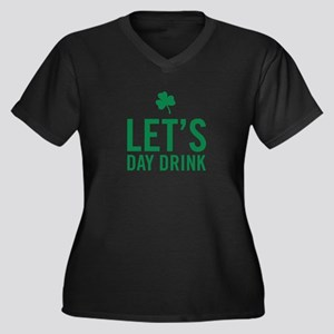 Let's Day Drink Plus Size T-Shirt