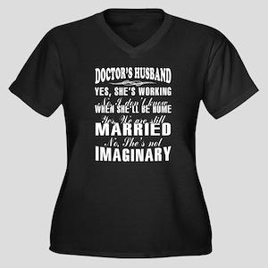 Doctor's Husband T Shirt Plus Size T-Shirt