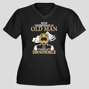 Snowmobile T Shirt Plus Size T-Shirt