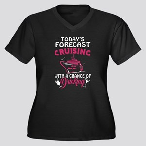 Forecast Cruising With A Chance Plus Size T-Shirt