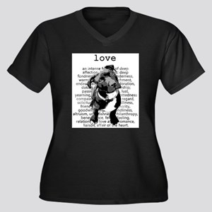 Pit Bull Love Plus Size T-Shirt