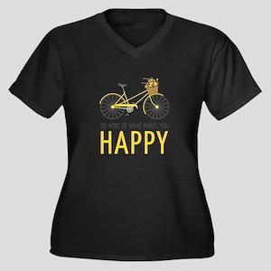 Makes You Happy Plus Size T-Shirt