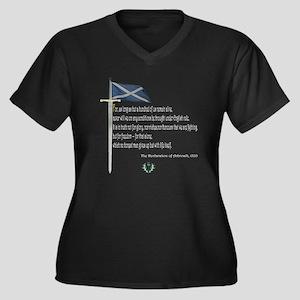 Declaration Of Arbroath Women's Plus Size V-Neck D