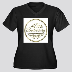 45th Anniversary Plus Size T-Shirt