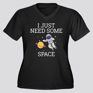 I Need Some Space Plus Size T-Shirt