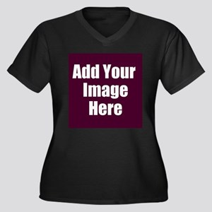 Add Your Image Here Plus Size T-Shirt