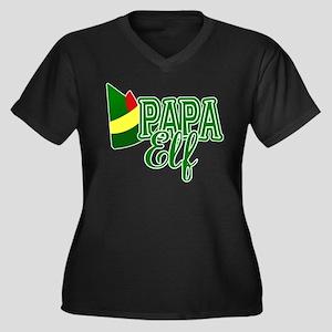 Papa Elf Elf Movie Plus Size T-Shirt