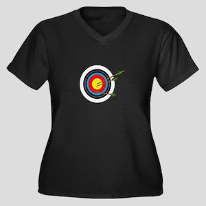 ARCHERY TARGET Plus Size T-Shirt