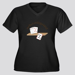 Perfect Cribbage Hand Plus Size T-Shirt