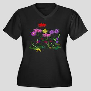 Flower B Plus Size T-Shirt