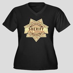 Sheriff Longmire Plus Size T-Shirt