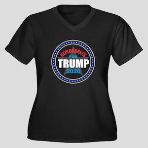 Deplorables for Trump 2020 Plus Size T-Shirt