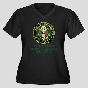 CUSTOM TEXT U.S. Army Plus Size T-Shirt