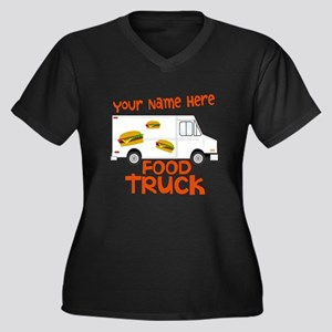 Food Truck Plus Size T-Shirt