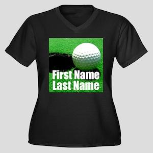 Golfball Plus Size T-Shirt