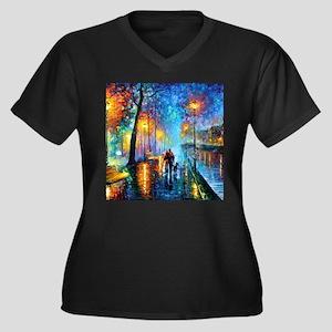 Evening Walk Plus Size T-Shirt
