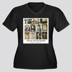 Cats of the Old Masters resized Plus Size T-Shirt