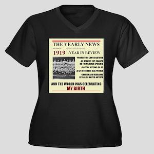 born in 1919 birthday gift Women's Plus Size V-Nec