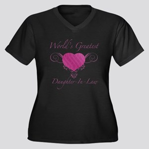 World's Greatest Daughter-In-Law (Heart) Women's P