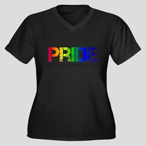 Pride Rainbow Plus Size T-Shirt