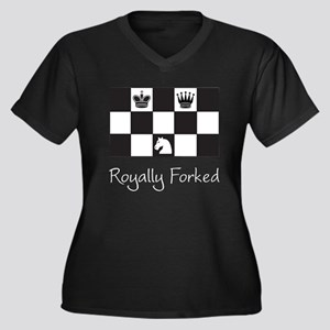 Royally Forked Plus Size T-Shirt