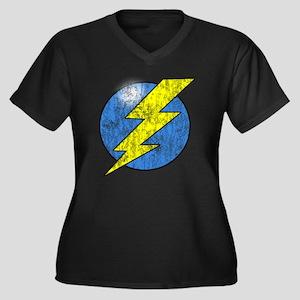 Vintage Sheldon Lightning Bolt 2b Plus Size T-Shir