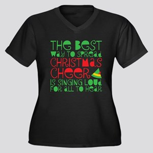 Elf - Cheer Plus Size T-Shirt