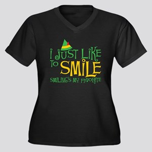 Elf - Smile Plus Size T-Shirt